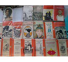 Books - orange Photographic Print