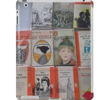 Books - orange iPad Case/Skin
