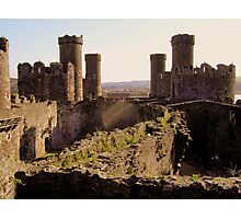 Conwy on the Inside Photographic Print