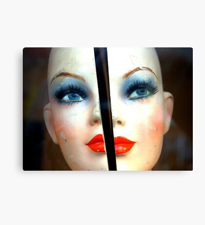 Broken Doll. Canvas Print