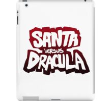 """Santa vs Dracula"" Graphic Novel logo iPad Case/Skin"