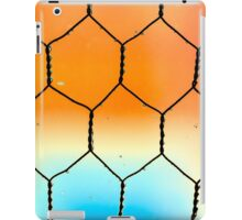 Chicken Wire Window iPad Case/Skin