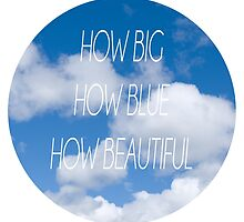 Florence + The Machine - How Big How Blue How Beautiful by Warac
