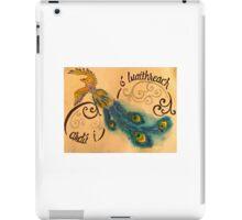 Blue Phoenix iPad Case/Skin