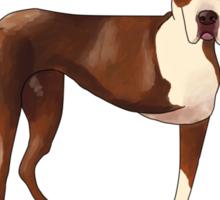 Champion the Three-Legged Dog Sticker