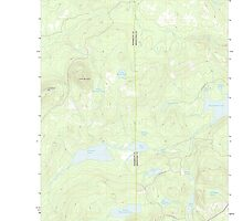 Maine USGS Historical Map Green Mountain 20110913 TM by wetdryvac
