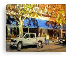 ON GOV'T STREET Canvas Print