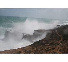 Wild seas. Photographic Print