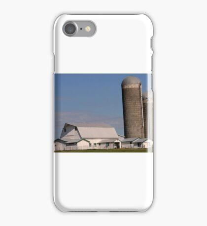 Barn and Silos iPhone Case/Skin