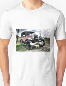 Classic Cars Ford - HDR T-Shirt