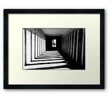 Arcadia perspecta. Framed Print