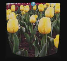 Yellow tulips 3 Kids Clothes
