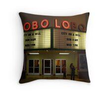 Lobo Lobo Albuquerque NM Throw Pillow