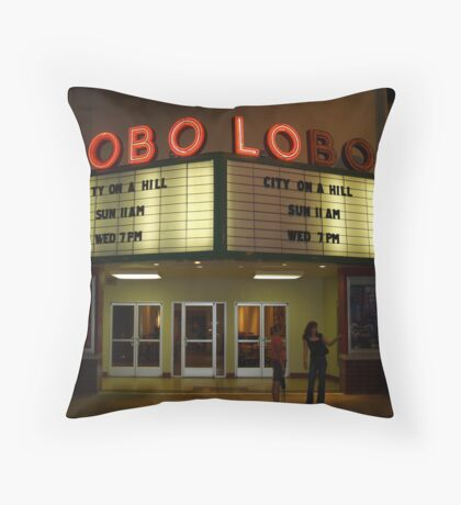 Lobo Lobo Albuquerque NM Throw Pillow