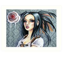 Wallpaper Flower Art Print
