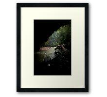 Natural Arch Framed Print