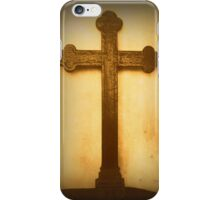Wooden Altar Cross iPhone Case/Skin