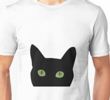 Cat peek a boo Unisex T-Shirt