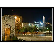 Jaffa Gate and David tower Photographic Print