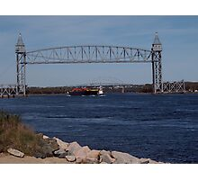 Cape Cod Canal Railroad Bridge Photographic Print