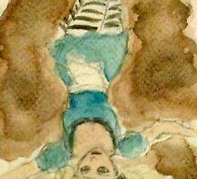 Down Falls Alice by Jen Hallbrown