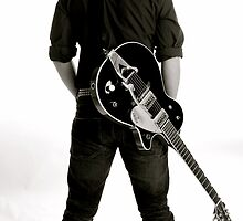 Guitarist by Rebs O