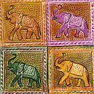 Four Little Elephants by Anni Morris