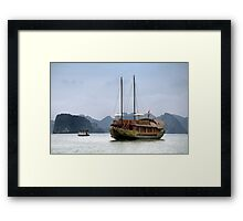 Vietnam: The Junk Framed Print