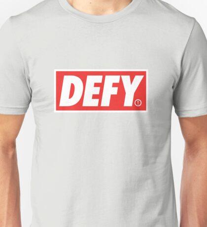 DEFY - outline Unisex T-Shirt