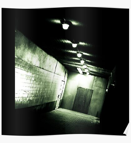 Untitled (corridor) Poster