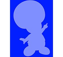 Toad Shape (Silhouette) Photographic Print