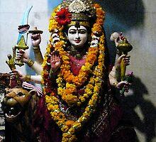Durga, The Mother Goddess by Lydia Cafarella