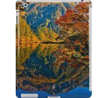 Autumn Reflection in Mirror Lake, Jiuzhaigou iPad Case/Skin