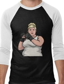 punch you out pam Men's Baseball ¾ T-Shirt