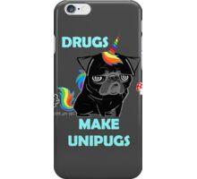 black unipug iPhone Case/Skin