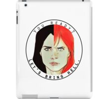 natasha and laura iPad Case/Skin