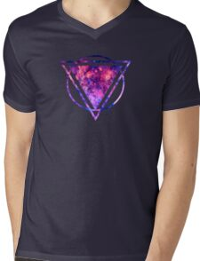 The center of the Universe (The Galactic Center Region ) Mens V-Neck T-Shirt