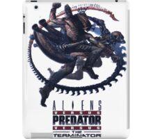 Alien VS Predator VS Terminator iPad Case/Skin