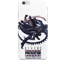Alien VS Predator VS Terminator iPhone Case/Skin