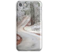 Lonely Country Road iPhone Case/Skin