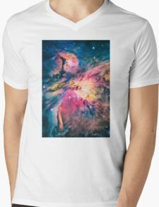 The awesome beauty of the Orion Nebula  Mens V-Neck T-Shirt