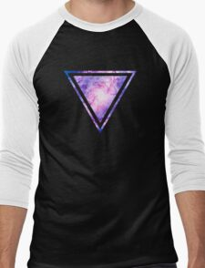Cosmic vacuum cleaner (Spiral Galaxy M83) Men's Baseball ¾ T-Shirt