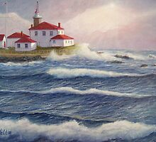 Watch Hill Lighthouse by William H. RaVell III