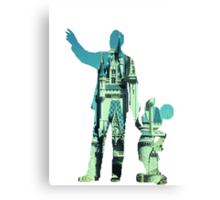 Partners: Walt's Dream Canvas Print