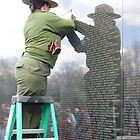 Vietnam War Memorial  by clizzio