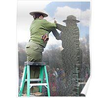 Vietnam War Memorial  Poster