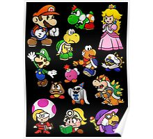 Paper Mario Collection Poster