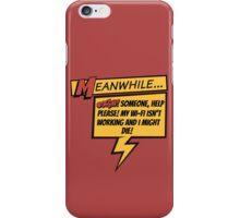 Comic Book Wifi iPhone Case/Skin