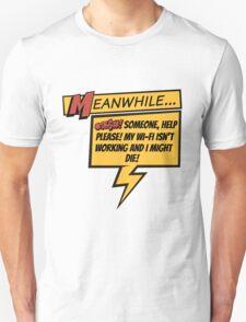 Comic Book Wifi T-Shirt