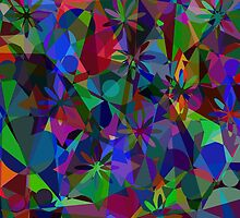 Colorful abstract geometric by luizavictorya72